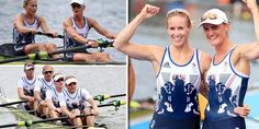 #RioOlympics: Team GB win TWO Olympic rowing golds