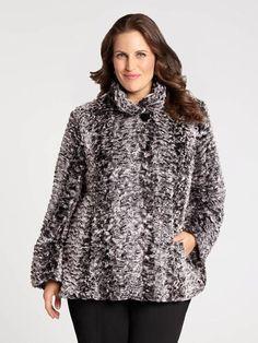 Faux Rabbit Fur Coat Rabbit Fur Coat, Turtle Neck, Tunic Tops, Blouse, Long Sleeve, Sleeves, Sweaters, Women, Fashion