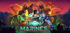 """Iron Marines per iPhone e Android - il miglior strategico in tempo reale del 2017? Il team Ironhide mette da parte elfi, maghi e guerrieri e si butta a capofitto nello spazio con il nuovissimo """"Iron Marines"""" !!!  Uno strategico in tempo reale per iPhone e Android che manderà lett #rts #strategico #android #iphone #giochi"""