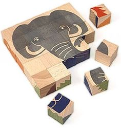 Sustainably Harvested Maple Animal Puzzle : TreeHugger
