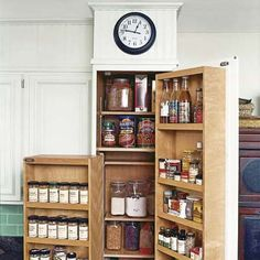 functional storage!    Photo: Jurgen Frank | thisoldhouse.com | from We Redid Our Kitchen for $6,000