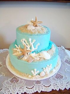 top-16-beach-theme-party-wedding-cakes-beauty-unique-ceremony-day-idea (3)