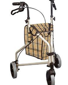 Drive Medical Winnie Lite Supreme Aluminum Three Wheel Rollator - Gifts for Grandma Walker Accessories, Mobility Aids, Look Good Feel Good, 3rd Wheel, Grandma Gifts, Knitted Bags, Best Gifts, Basket, Medical