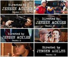So Proud of you @JensenAckles on directing 4th time. #Supernatural #ActionAckles #SoulSurvivor