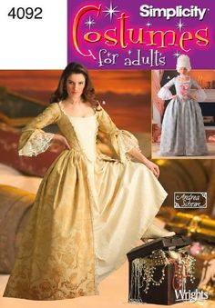 Simplicity Sewing Pattern 4092 Misses Costumes, HH (6-8-10-12) by Simplicity, http://www.amazon.com/dp/B000MU5K5S/ref=cm_sw_r_pi_dp_ytzXqb0KTXVC2