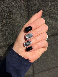 Christina Fitzgerald nail polish, moyou london mandala plate