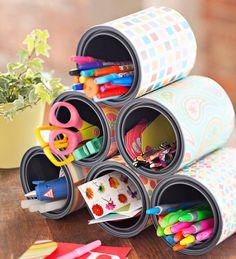 Homemade Organizer - #DIY