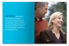 Russell Design | Selected Work. Ameriprise Financial Annual Report 2006, Spread 1.
