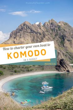 Dreaming of exploring the stunning Komodo National Park on a private boat? Read everything you want to know about chartering a private liveaboard in Labuan Bajo on a budget. Getting a private boat in Labuan Bajo to explore Komodo National Park is the best way to see this highlight of Indonesia. Your private boat will take you to the best snorkeling in Indonesia, Pink beaches, deserted islands, Padar island and the legendary komodo dragons. #komodo #indonesiatravel # snorkel #boatcharter