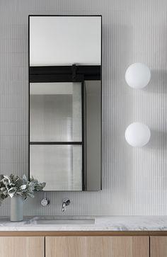 Bathroom Inspo, Laundry In Bathroom, Bathroom Inspiration, Small Bathroom, Interior Inspiration, Malvern House, Laundry Chute, Bathroom Interior Design, Interiores Design