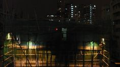 Silent building  Hong Kong