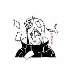 Naruto Tattoo, Anime Tattoos, Black Tattoo Art, Dark Tattoo, Cool Art Drawings, Amazing Drawings, Naruto Art, Anime Naruto, Naruto Sketch Drawing