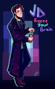 Jason Dean - Freeze Your Brain Man I'm really addicted to Heathers. [Also chains cuz I think it looks cool] Heathers Fan Art, Heathers The Musical, Theatre Nerds, Musical Theatre, Broadway Theatre, Jd And Veronica, Musical Hamilton, Meant To Be Yours, Christian Slater