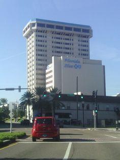 Downtown Riverside -Blue Cross building