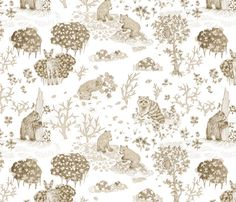 Pencil Forest  fabric by teja_jamilla on Spoonflower - custom fabric