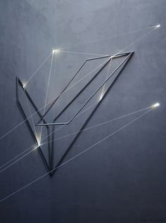 Light Installations by Carlo Bernardini