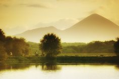 Croagh Patrick, Mayo, Ireland. The holy mountain of Croagh Patrick (known locally as The Reek) is popular with walkers and pilgrims alike. Thousands of pilgrims climb the mountain on Reek Sunday, the last Sunday in July, each year.