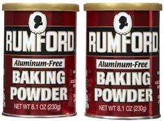 Rumford Aluminum Free Baking Powder, Canisters, 8.1 oz, 2 pk * You can find out more details at the link of the image.