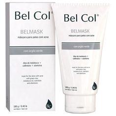 Bel Col BelMask Lleva a cabo undrenaje de las toxinas acumuladas en la piel, permitiendo una mayor oxigenación.  Las propiedades antisépticas de los ingredientes activos ayudan a controlar el acné y la autonomía de secativo el producto.