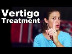 Vertigo Treatment with Simple Exercises (BPPV) - Ask Doctor Jo - YouTube