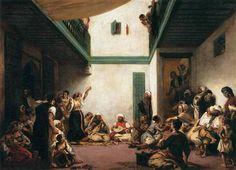 A Jewish wedding in Morocco - Eugene Delacroix