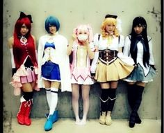 AKB48 members dress up as the magical girls from Madoka Magica - http://sgcafe.com/2013/12/akb48-members-dress-magical-girls-madoka-magica/