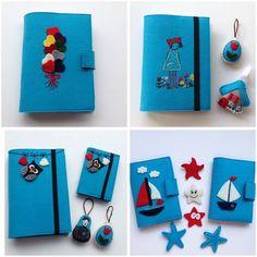 Mavi... Kitap & pasaport kılıfları Whatsapp 0545 839 41 10 #felt#keçe#mavi#blue#passportcase#bookcover#keyring#owl#balon#sailboat#yelkenli#cute#şirin#hediyelik#gift by atolyenes