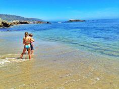 Rockpile Beach in Laguna Beach Orange County Beaches, Beach Mom, Laguna Beach, Mom Blogs, Places To Travel, California, Park, Water, Summer