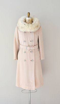 60's Fur Collar Coat ▶suggested by ~Sophistic Flair~