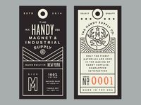 Handy Supply Co. Tags