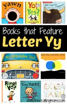 Letter Y Book List - Books that Feature Letter Y | This Reading Mama