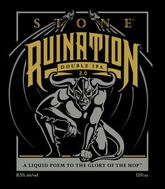 stone citracado double ipa | Brand Assets & Guidelines | Stone Sales…