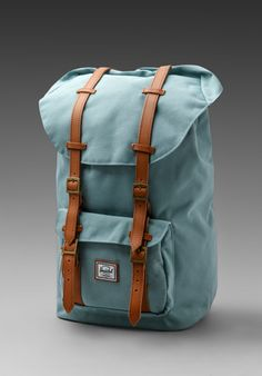 HERSCHEL SUPPLY CO. Bad Hills Workshop Little America in Sea Foam/Bird Lining at Revolve Clothing - Free Shipping!