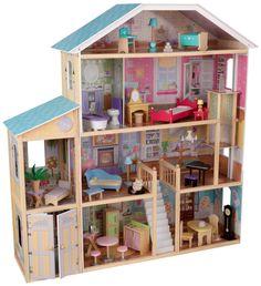 Girls LOVE a KidKraft Mansion Dollhouse