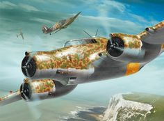 [Painting by Arkadiusz Wróbel] Ww2 Aircraft, Military Aircraft, Military Flights, Italian Air Force, War Thunder, Aircraft Painting, Airplane Art, Military Art, Military Diorama