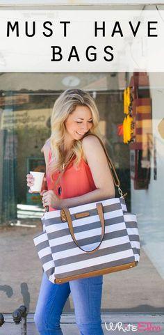 Shop stylish totes & diaper bags at shopwhiteelm.com
