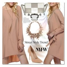 """""""NYFW Street Style"""" by jecakns ❤ liked on Polyvore featuring Lipsy"""