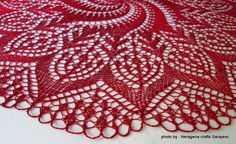 Christmas Lace doilie by Neragena Crafts