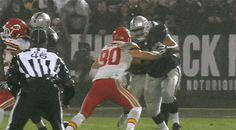 WATCH: Kansas City Chiefs DB Kurt Coleman Knocks Raiders RB Latavius Murray Out of the Game | FatManWriting