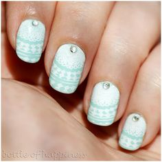 bottle of happiness: #nail #nails #nailart