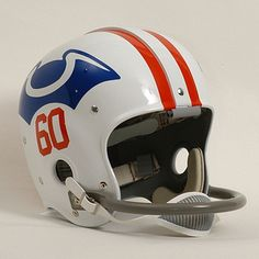 Original Boston Patriots helmet from 1960's...
