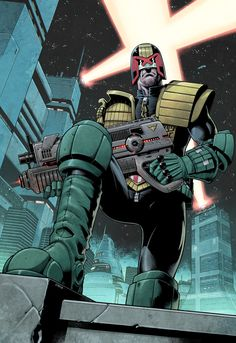 Dredd foot by DylanTeague.deviantart.com on @DeviantArt