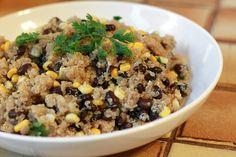 Runs With Spatulas: Quinoa & Black Beans