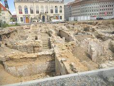 Escavações da velha cidade - Dresden - Alemanha
