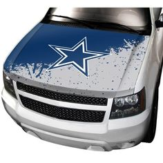 NFL Dallas Cowboys Auto Hood Cover http   www.nflofficial.org  322876ef9
