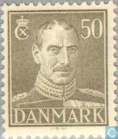 Denmark - King Christian X. 1945