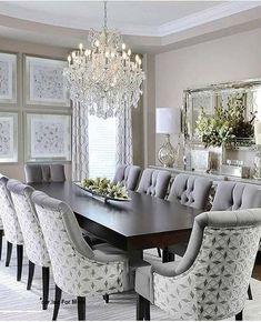 Dcor For Formal Dining Room Designs Decor Around The World. Dining Room Design Ideas With Brave Tone Decoration . Green Dining Room Curtain Ideas Biaf Media Home Design. Home and Family Dining Room Table Decor, Elegant Dining Room, Luxury Dining Room, Dining Room Walls, Dining Room Design, Dining Room Furniture, Living Room Decor, Dining Area, Formal Dinning Room