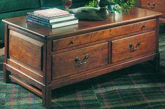 Lexington Bob Timberlake Collectors Rectangular  Cherry Cocktail table 833-952
