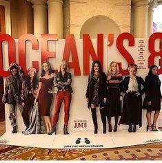 Ocean's Eight, Oceans 8, Mindy Kaling, Helena Bonham Carter, June 8, Rihanna Fenty, Anne Hathaway, Cate Blanchett, Sandra Bullock