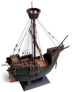 Here are some more images of IMAI's 1/50 scale Catalan Merchant Ship. This model is actually a 1/1 scale model of a model who...